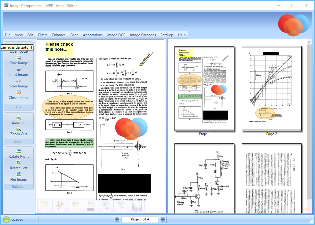 Products  NET WPF ImgThumbnails   Document Imaging SDK - Image